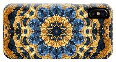 Dripping Gold Kaleidoscope IPhone Case
