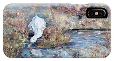 Ducks. Split Opposite Colour Harmony.  IPhone Case
