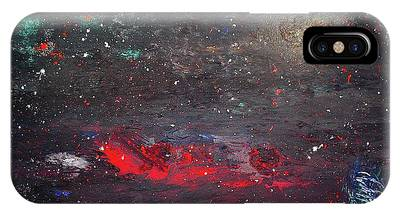 IPhone Case featuring the painting Dulaity by Michael Lucarelli