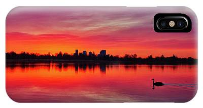 Early Morning Swim IPhone Case