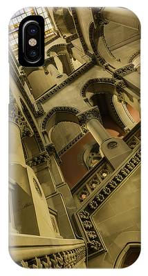 IPhone Case featuring the photograph Eastern Staircase by Brad Wenskoski