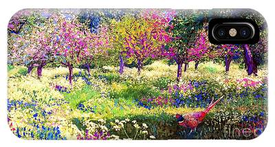 Fruit Tree Paintings iPhone Cases