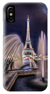 IPhone Case featuring the photograph Eiffel And The Fountain by Kevin McClish