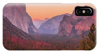 IPhone Case featuring the photograph El Capitan Golden Hour by Benny Marty