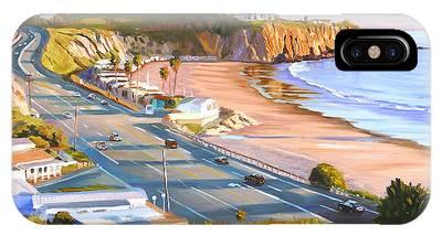 Laguna Beach Paintings iPhone Cases