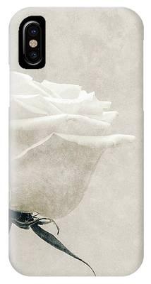 Elegance In White IPhone Case