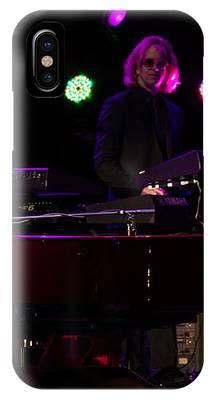 Elton - Enjoying The Show IPhone Case by Chris Cousins