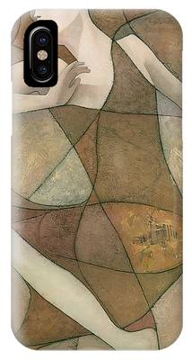 Abstract Figurative iPhone Cases