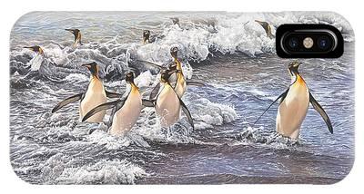 Emperor Penguins IPhone Case
