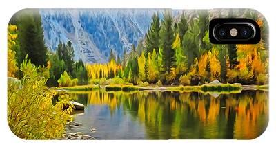 Fall At North Lake IPhone Case