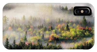 IPhone Case featuring the photograph Fall Fog by Brad Wenskoski