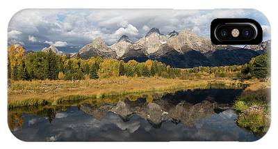 IPhone Case featuring the photograph Fall In The Tetons by Ronnie and Frances Howard