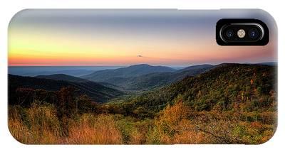 Fall Sunrise IPhone Case