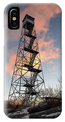 IPhone Case featuring the photograph Fire Tower Sky by Brad Wenskoski