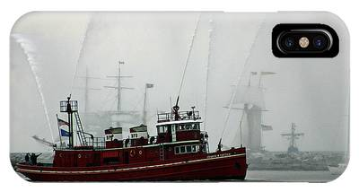 Fireboat Phone Cases
