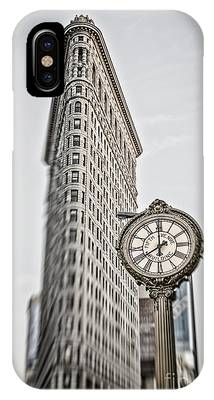 IPhone Case featuring the photograph Flat Iron Building by Juergen Held