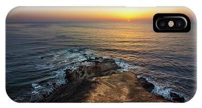 IPhone Case featuring the photograph Flat Rock Point Sunset by Andy Konieczny