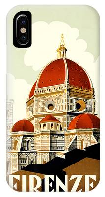 Vintage Travel Poster Phone Cases