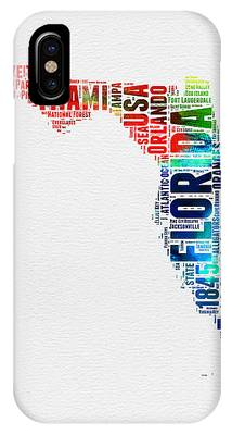 Florida Map Phone Cases
