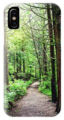 Forest Invitation Phone Case by Lincoln Rogers