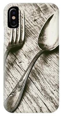 Fork And Spoon IPhone Case