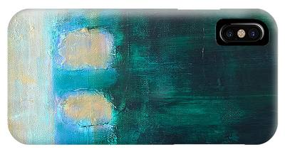 IPhone Case featuring the painting Four by Kim Nelson
