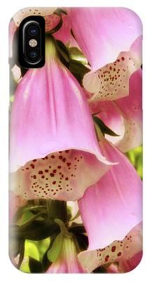 Foxglove Flowers Phone Cases