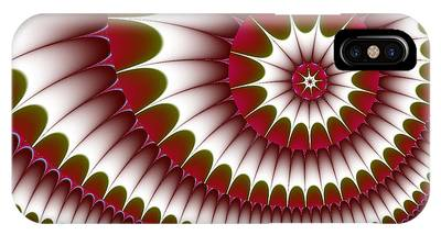 Fractal 634 IPhone Case