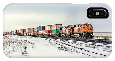 Locomotive Photographs iPhone X Cases