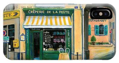 Street Scene France Phone Cases