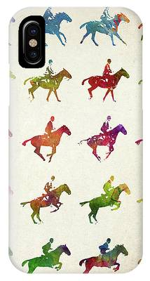 Warmblood Horse Phone Cases