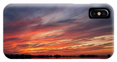 Meditative Sky IPhone Case