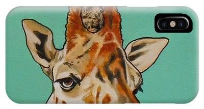 Gerald The Giraffe IPhone Case