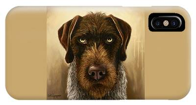German Wirehaired Pointer Phone Cases