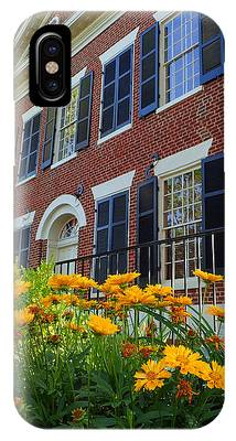 Golden Blooms At The Dahlonega Gold Museum IPhone Case
