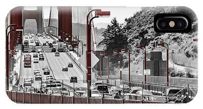Golden Gate Bridge Street View IPhone Case