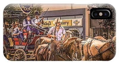 Goshen Mounted Police IPhone Case