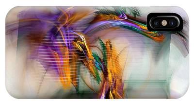Abstract Digital Art Digital Art iPhone Cases