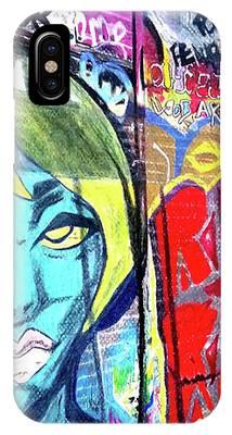 Graffiti Alley, Boston, Ma IPhone Case by Patti Ferron