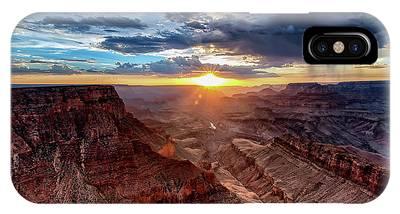 Grand Canyon Sunburst IPhone Case