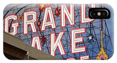 Grand Lake Theatre . Oakland California . 7d13495 IPhone Case
