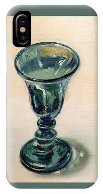 Green Glass Goblet IPhone Case