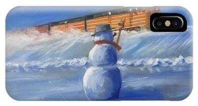 Snowman Phone Cases