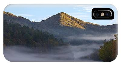 Ground Fog In Cataloochee Valley - October 12 2016 IPhone Case