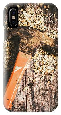 IPhone Case featuring the photograph Hammer Details In Carpentry by Jorgo Photography - Wall Art Gallery