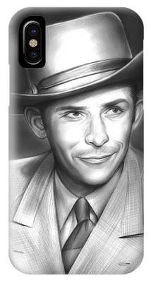 Hank Williams IPhone Case