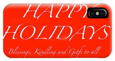 Happy Holidays - Day 1 IPhone Case