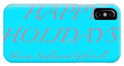 Happy Holidays - Day 3 IPhone Case