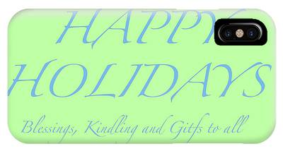 Happy Holidays - Day 4 IPhone Case