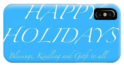 Happy Holidays - Day 5 IPhone Case